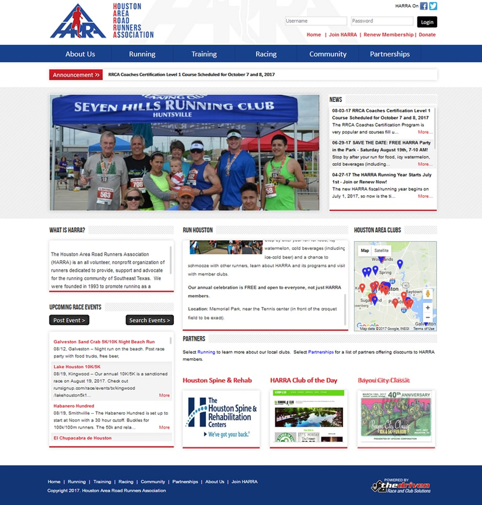 Online Race Registration and Online Club Management, Fundraising ...