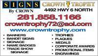 CROWN TROPHY HOUSTON