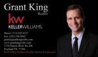 Grant King, Keller Williams Houston Preferred