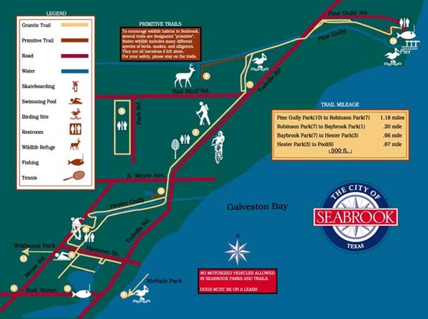 City of Seabrook Map