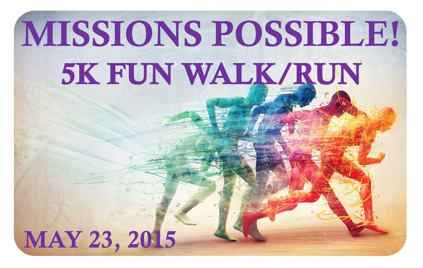 United Check Bag Fee Missions Possible 5k Fun Walk Run