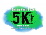 Ditch the Weight & Guns 5K Walk & Run: Roseland, Englewood, Chatham