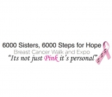 6000 Sisters, 6000 Steps for Hope Breast Cancer Walk & Expo 2016