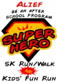 2017 Be An Alief After School Program SUPER HERO! 5K & 1-Mile Fun Run