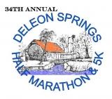 34TH ANNUAL DELEON SPRINGS HALF MARATHON AND 5K