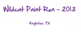 Wildcat Paint Run