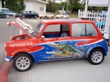A Legacy of Love Gator Mini Cooper Raffle
