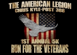 American Legion Chris Kyle Post 388 Run for the Veterans